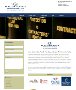 sloangoforth law website